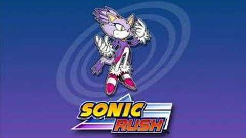 Sonic Rush Music Right There, Ride On (blaze)