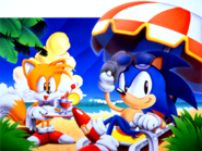 Sonic Screen Saver 10