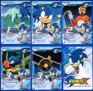 Sonic X tcg Rare 081-085