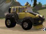Tails' vehicle