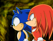 Knux and sonics showtime