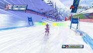 Mario Sonic Olympic Winter Games Gameplay 013