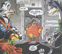 Robotnik captured enemies