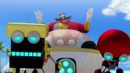 SB S1E26 Eggman Cubot Orbot sleigh