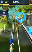 Sonic Dash 2 rail