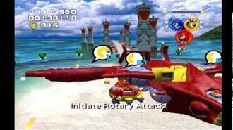 Sonic Heroes- Egg Hawk (Team Sonic)
