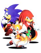 Sonic Jam arte promocional 2