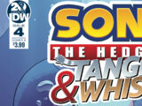 Sonic the Hedgehog: Tangle & Whisper Issue 4