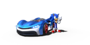 Team Sonic Racing Sonic