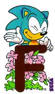 Alphabet Sonic 5