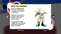 Perfil de Silver - Sonic Generations