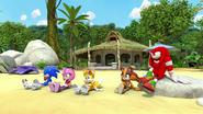 SB S1E02 Team Sonic Chillin on the Beach