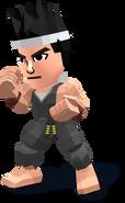 Smash4 MiiBrawler Outfit Akira