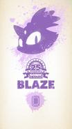 Sonic25th Wallpaper Blaze