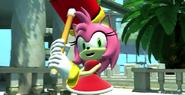 Sonic Generations Amy VS