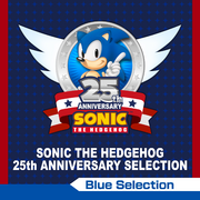 Sonic the Hedgehog 25th Anniversary Selection (Blue Selection)
