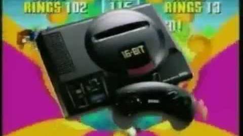 Sonic the Hedgehog 2 Japanese TV Commercial - Sega Mega Drive Genesis