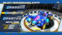 Metal Sonic Energy Engine Rear