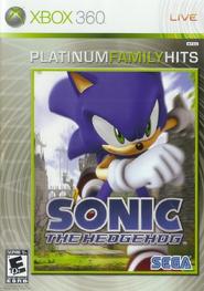 Sonic 06 Xbox Platinum