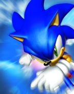 Sonic Heroes Sonic run