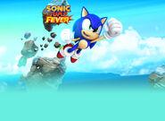 Sonic Jump Fever Sega background