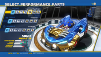 Sonic Legendary Mega Engine Front