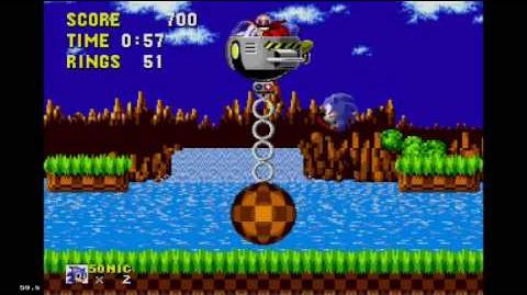 Sonic the Hedgehog - Green Hill Zone Boss