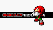 Knuckles Sonic Advance 3 intro