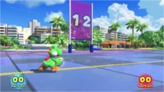 Mario & Sonic at the Rio 2016 Olympic Games - Yoshi Duel Rugby Sevens