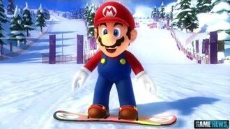 Mario and Sonic at the Olympic Winter Games Sochi 2014 Trailer