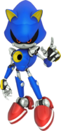 Metal Sonic Channel art 5