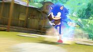 S1E24 Sonic run