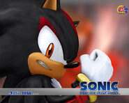 Shadow Sonic 2006 wallpaper