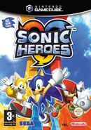 SonicHeroes GCN UK Cover