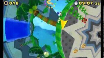 Sonic Lost World (3DS) - Master Zik Boss Battle (S-Rank)-1