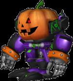 Sonic Runners Halloween Omega model