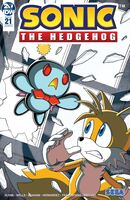 IDW Sonic the Hedgehog Issue 21