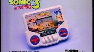 Tiger Electronics - Sonic 3 LCD Handheld Commercial (1994)