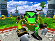 Intro - Turtle Shell - Team Chaotix