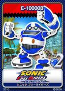 Sonic Free Riders karta 7