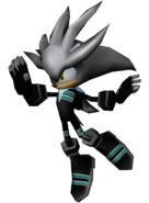 Sonic Rivals - Silver Leather