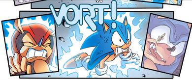 Sonic the werehog- a1