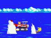 StH3 Super Sonic in first cut-scene
