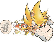 Super Sonic closes in