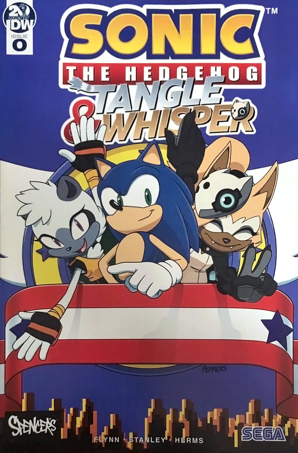 Sonic The Hedgehog Tangle Whisper Issue 0 Sonic News Network Fandom
