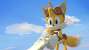 Tails holding enerbeam