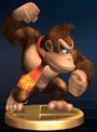 Donkey Kong - Brawl Trophy