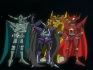 Metarex commanders