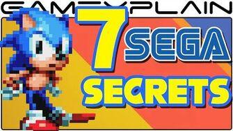 SM 7 Sega Easter Eggs in Sonic Mania & Sonic 2017