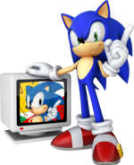 Sonic Channel 3D Sonic art 5